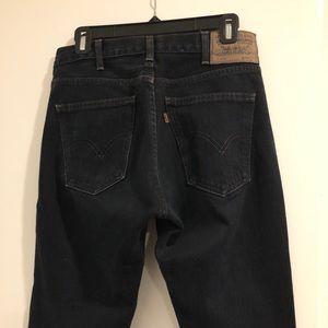 Levi's Jeans - Levi's LVC 606 Slim Fit, Washed Black, Sz 27
